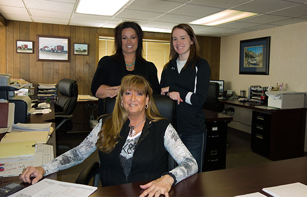 Mike Wacker Trucking office staff